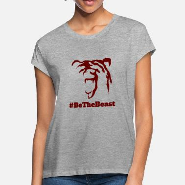 Red Time Force #BeTheBeast (Red) - Women's Loose Fit T-Shirt