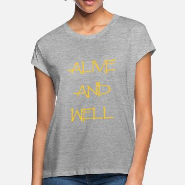Alive And Well Alive and Well Yellow - Women's Loose Fit T-Shirt