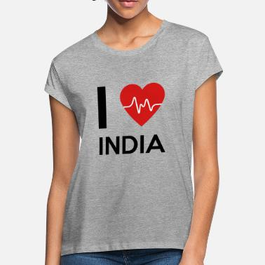 I Love India - Women's Loose Fit T-Shirt