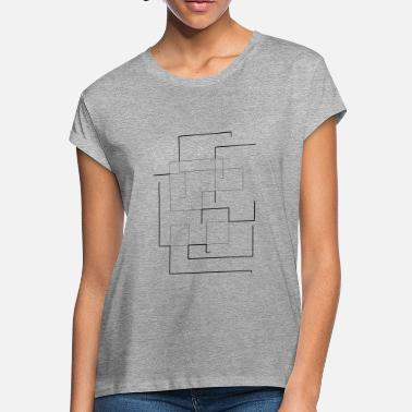 Clean Modern clean lines - Women's Loose Fit T-Shirt