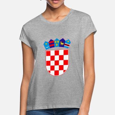 b72f09d95f3 Coat of arms of Croatia Hrvatska - Women's Loose Fit T-. Women's Loose  Fit T-Shirt