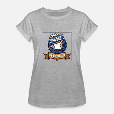 Bru IRN BLUE - Women's Relaxed Fit T-Shirt