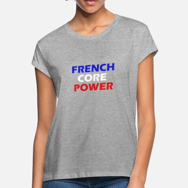 Frenchcore Power simple Men / Women - Women's Loose Fit T-Shirt