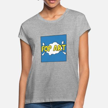 Pop Star Pop Art - Women's Loose Fit T-Shirt