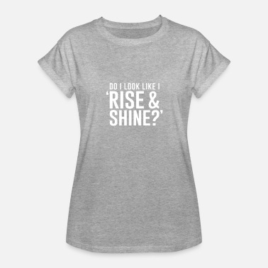 Shinee Geek Rise And Shine - Women's Relaxed Fit T-Shirt