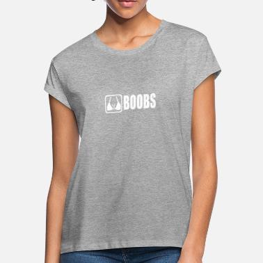 d5b4abf1b71 boob funny tshirt - Women  39 s Loose Fit ...