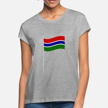 Gambia Flag flag of gambia - Women's Loose Fit T-Shirt