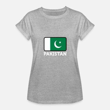Pakistan Middle East National Flag Of Pakistan - Women's Relaxed Fit T-Shirt