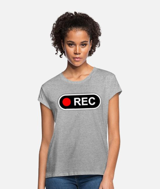 "VHS T-Shirts - ""Ramseys VHS"" - Women's Loose Fit T-Shirt heather gray"