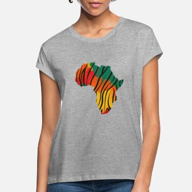 Rasta Africa Shirt African Black Power - Women's Loose Fit T-Shirt