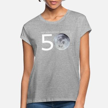 Moon Apollo 11 50 Years Anniversary Moon Landing - Women's Loose Fit T-Shirt