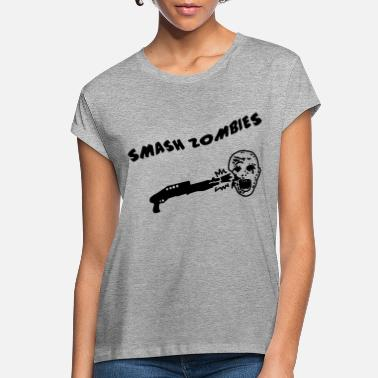 Shoot Em Up Smash Zombies - Women's Loose Fit T-Shirt