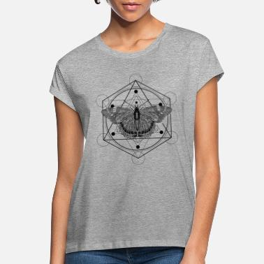 Geometry Sacred Geometry Admiral Butterfly - Women's Loose Fit T-Shirt