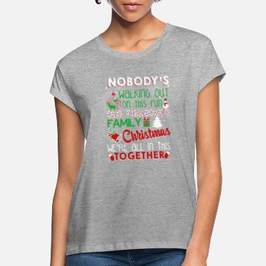 Vacation Family Christmas Shirt - Women's Loose Fit T-Shirt