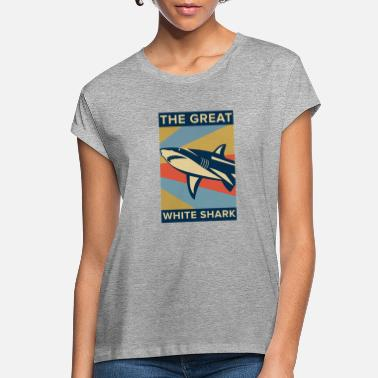 Great White Shark Great White Shark - Women's Loose Fit T-Shirt