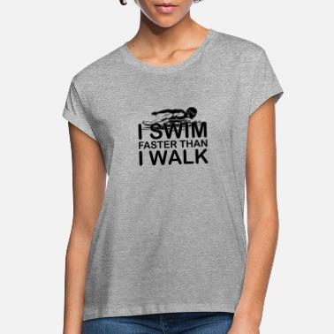 Swimming Trunks Swimming - Women's Loose Fit T-Shirt