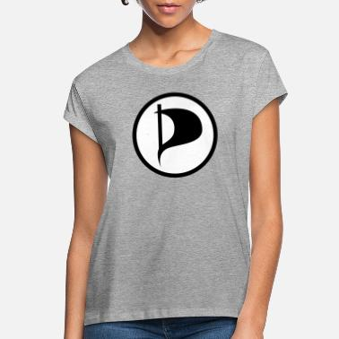 Pirate Party Pirate Party Symbol - Women's Loose Fit T-Shirt