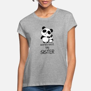 Big worlds best big sister - Women's Loose Fit T-Shirt