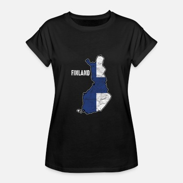 Finnish Patriot Patriotic Finland Flag Finns Finnish Patriotism Nationalism - Women's Relaxed Fit T-Shirt