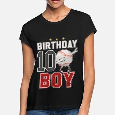 10 Year Old Dabbing Baseball Player 10th BDay