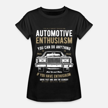 Vintage Automotive Automotive Classic Car - Women's Relaxed Fit T-Shirt