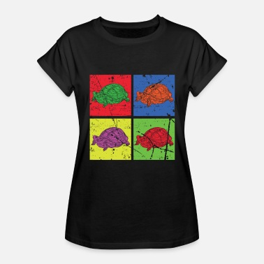 Booty Christmas Turtle beach booty Lake - Women's Relaxed Fit T-Shirt