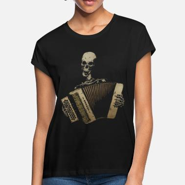 The Piano Accordion Blues - Women's Loose Fit T-Shirt