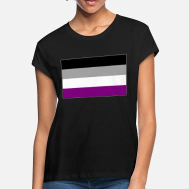 43127a31 Asexual Pride Flag - Women's Loose Fit T-Shirt
