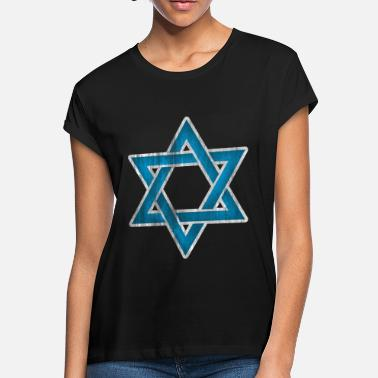 Judaism Star of David Israel Judaism - Women's Loose Fit T-Shirt