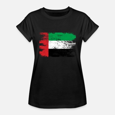 United Arab Emirates United Arab Emirates Shirt Gift Country Flag Patriotic Travel Asia Light - Women's Relaxed Fit T-Shirt