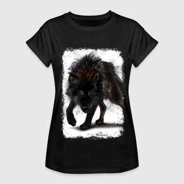 Angry Wilderness Angry Fox Tshirt - Women's Relaxed Fit T-Shirt