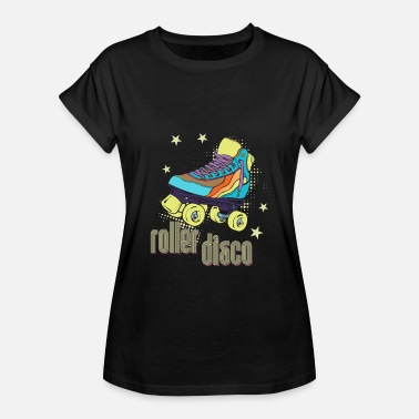 Customs Retro roller disco retro skating throwback custome shirt - Women's Relaxed Fit T-Shirt