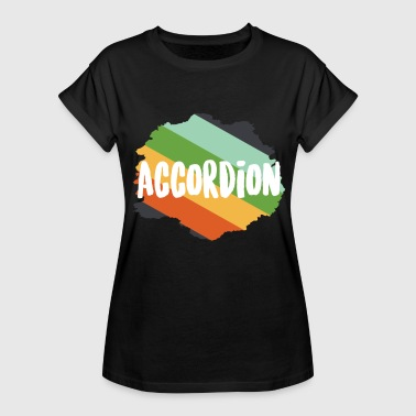 Concertina Accordion Concertina Melodeon Piano Accordion Gift - Women's Relaxed Fit T-Shirt