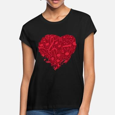 Music Music Is Love - Women's Loose Fit T-Shirt