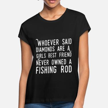 whoever said diamonds are a girls best friend neve - Women's Loose Fit T-Shirt