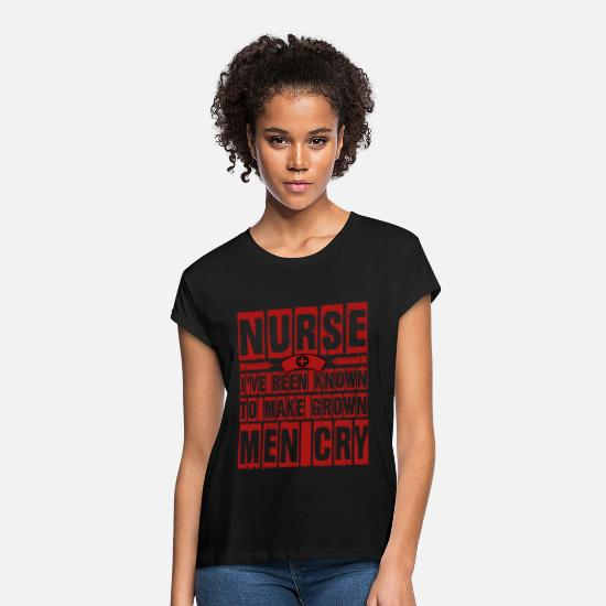 Career T Shirt T-Shirts - I've Been Known To Make Grown T Shirt - Women's Loose Fit T-Shirt black
