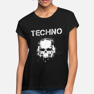 Dark Techno Hardstyle techno - Women's Loose Fit T-Shirt
