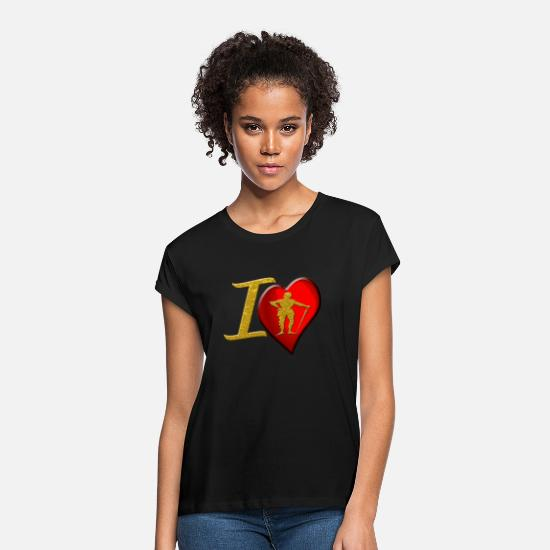 Gift Idea T-Shirts - Knight - Women's Loose Fit T-Shirt black