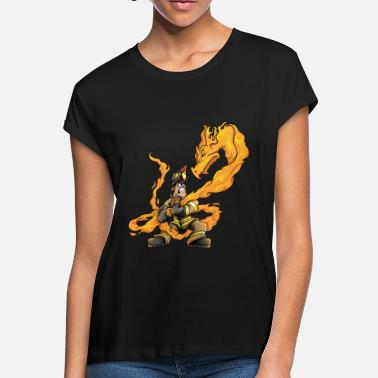 Fire Dragon Fire dragon - Women's Loose Fit T-Shirt