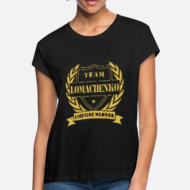Lomachenko Team Vasyl Lomachenko - Women's Loose Fit T-Shirt
