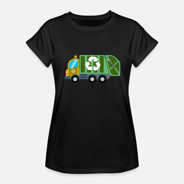 Trash Recycling Recycling Trash Truck - Women's Relaxed Fit T-Shirt