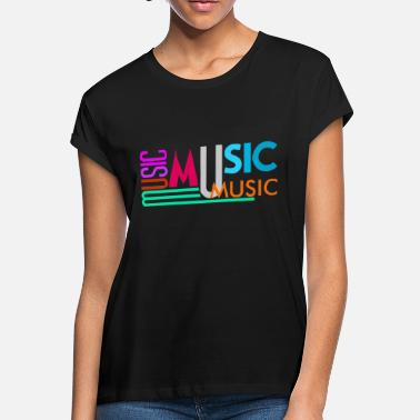 Text Music Text - Women's Loose Fit T-Shirt