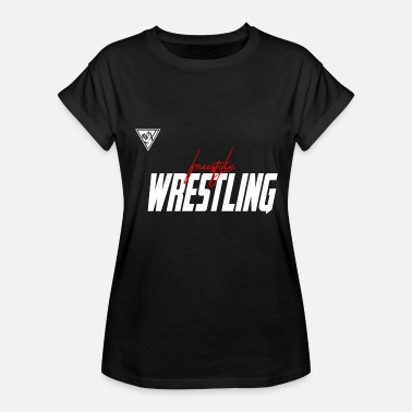Freestyle freestyle wrestling - Women's Relaxed Fit T-Shirt