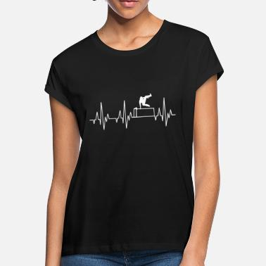 Parkour Heartbeat Le Parkour Free Running Freerunning - Women's Loose Fit T-Shirt