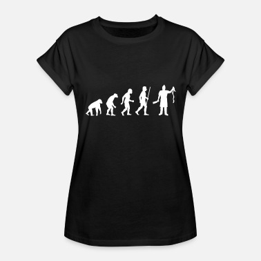 Evolution Butcher Butcher - Funny Evolution of Butcher - Women's Relaxed Fit T-Shirt