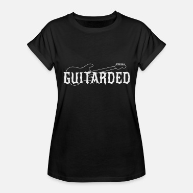 Acoustic Guitar Guitar - Guitarded - Women's Relaxed Fit T-Shirt