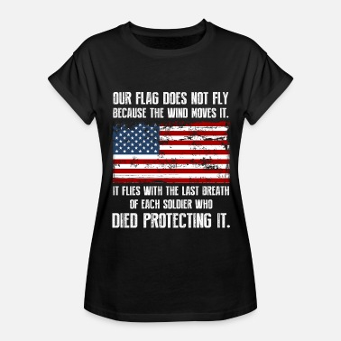 Stomp Our Flag - Clothing - Women's Relaxed Fit T-Shirt
