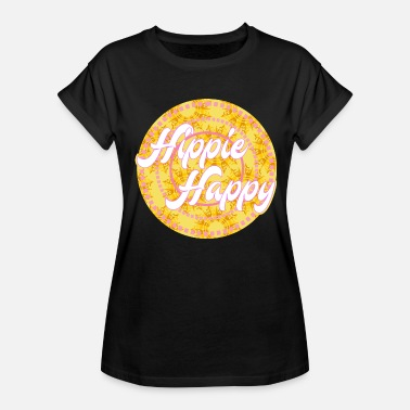Complacent Happy Hippie T-Shirt Present - Women's Relaxed Fit T-Shirt