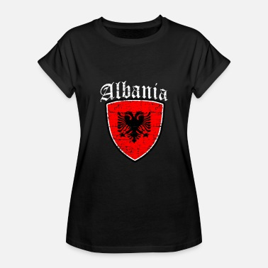 Flags Albanian Albanian Flag - Women's Relaxed Fit T-Shirt