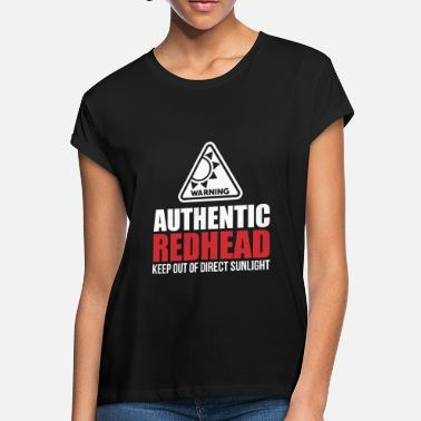 Redhead Authentic Redhead Funny Women T-Shirt - Women's Loose Fit T-Shirt